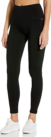 Jockey Womens Cotton Stretch Basic Ankle Legging, Deep Black, Large