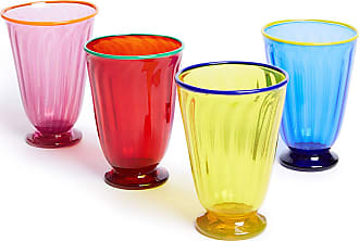 La DoubleJ Rainbow Glasses set of 4