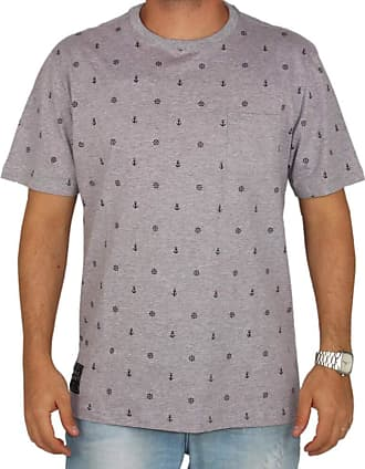 Wave Giant Camiseta Especial Wg Anchor - Cinza - P
