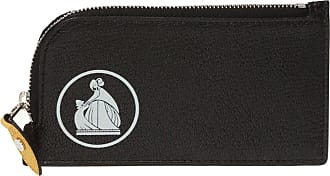 Lanvin Card Holder Womens Black