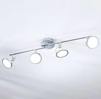Lindby Foco de techo LED Jorne, cromo, 4 focos