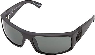 VonZipper Kickstand Rectangular Sunglasses Von Zipper S.I.N /& Black Satin One Size Veezee Dba Von Zipper