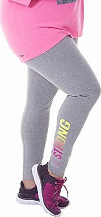 Fruit Of The Loom Womens Plus Size Graphic Legging, Medium Grey Heather/Beige Strong, 2X