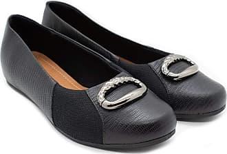 Usaflex Sapato Usaflex AB9206 Preto cor:preto;tamanho:39
