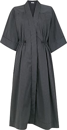 Osklen fitted waist dress - Black