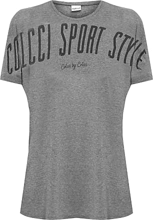 Colcci Fitness Camiseta Estampada - Cinza