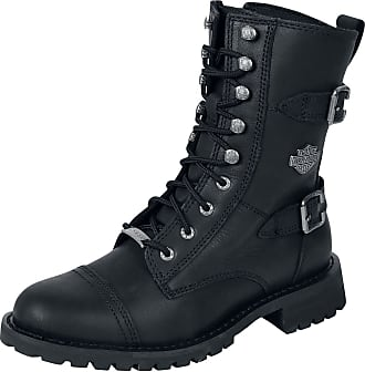 Herren Harley Davidson Static Steel Toe Arbeit Schuhe