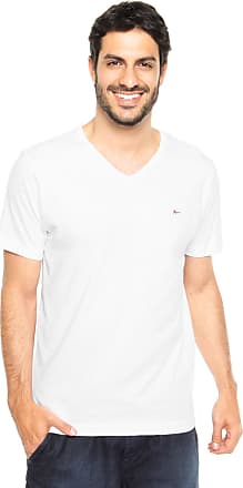 Aramis Camiseta Aramis Regular Fit Lisa Branca