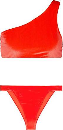 fb87f396412 Fendi Bikini Asymétrique En Velours Stretch Panama - Orange vif