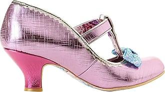 Irregular Choice Lazy River Womens Heeled Mary Jane Shoes (4 UK, Pink Multi (Pink Multi Y))