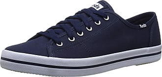 Keds Womens KICKSTART SEASONAL SOLID Sneaker, Navy, 5 UK