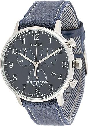 Timex Relógio Waterbury Classic Chrono 40mm - Azul