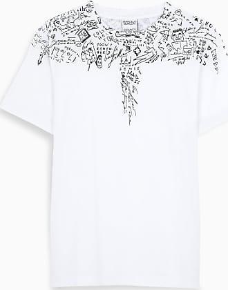 Marcelo Burlon White S/S Sketch Wings t-shirt