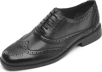 Padders Mens Oxfords, Black (Black), 7.5 UK 41.5 EU