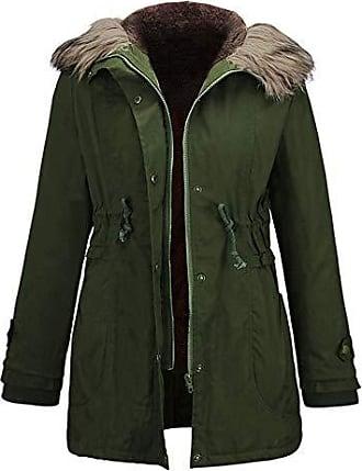Damen Business Mantel Trenchcoat Lang Mantel Woll Winter Warme Jacke mit Gürtel