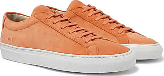 Common Projects Original Achilles Suede Sneakers - Orange