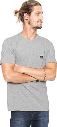 Reef Camiseta Reef Corporate Cinza