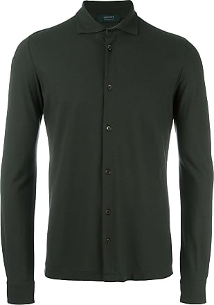 Zanone longsleeved shirt - Green