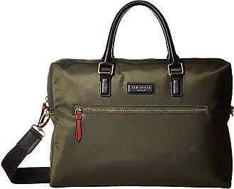 64d15cec5 Ted Baker Dancer Satin Nylon Document Bag (Olive) Briefcase Bags