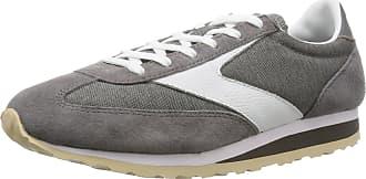 Brooks Heritage Womens Vanguard Trainer (UK 7, Dark Grey White)