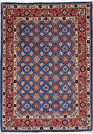 Nain Trading 151x107 Tappeto Persiano Waramin Grigio Scuro/Viola (Annodato a mano, Persia/Iran, Lana)