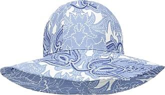 Etro Cappello a stampa paisley in ramia