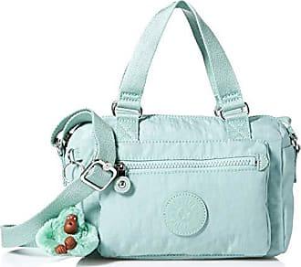 Kipling Lyanne Small Crossbody Bag, Removable, Adjustable Straps, Zip Closure, fern green