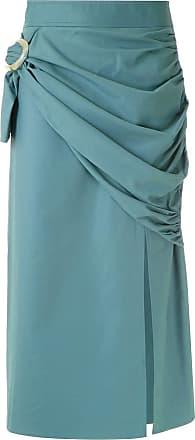 Framed Saia midi buckle - Azul