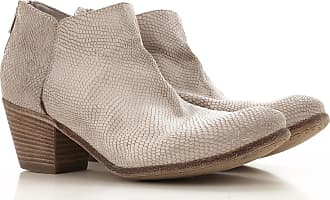 Officine Creative Boots for Women, Booties On Sale in Outlet, Beige Stone, Calfskin Leather, 2017, 6.5