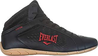 Everlast Tênis Everlast Station Masculino Academia - Fitness Preto/Vermelho 39