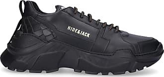 Hide & Jack Low-Top Sneakers SPEEDBUMP calfskin Logo black