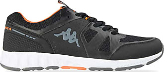 Kappa Mens Birdy 2 Track Shoe, Black Orange, 10.5 UK