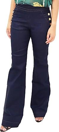 a60a77cb1 101 Resort Wear Calça Jeans 101 Resort Wear Flare Azul