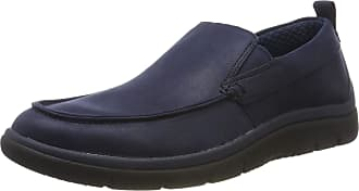 Clarks Mens Tunsil Way Loafers, Blue (Navy Navy), 7 UK