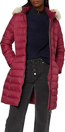Tommy Jeans Womens Tjw Essential Hooded Down Coat Jacket, (Purple Vg5), Small