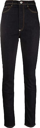 Philipp Plein Jeans mit hohem Bund - Blau
