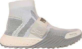 Philipp Plein Mens Sneakers Boots A19SUSC0022PKN002N White White Size: 8.5 UK