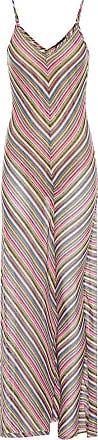 Y / Project Striped cotton-blend maxi dress