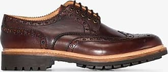 Grenson Mens Brown Archie Leather Brogues