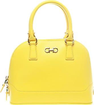 c7d6fcb5c4 1stdibs Salvatore Ferragamo Yellow Darina Crossbody Bag. In high demand