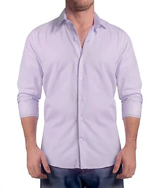 Sergio K. Camisa Light Twill Lilas