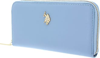 U.S.Polo Association U.S. POLO ASSN. Jones L Zip Around Wallet Light Blue