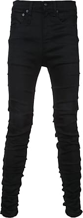 R13 slim-fit denim jeans - Black