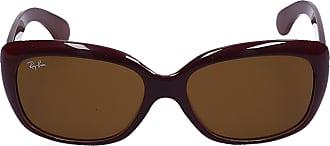 Ray-Ban Sonnenbrille Rectangular 4101 BORDEA Nylon bordeaux
