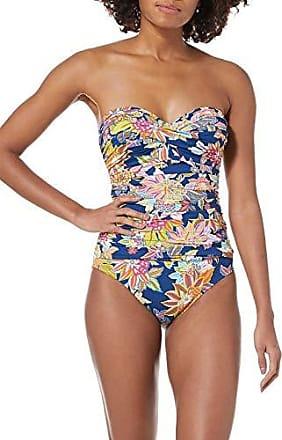 cfa9e8d2c3851 Bleu Rod Beattie Womens Convertible Strapless One-Piece Swimsuit Bathing  Suit, Navy Let The