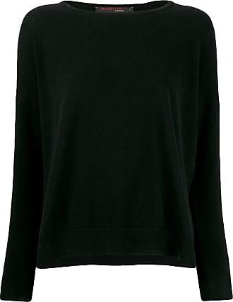 Incentive! Cashmere drop shoulder jumper - Preto