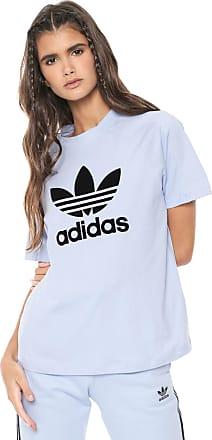 adidas Originals Camiseta adidas Originals Regular Tee Azul