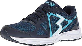 361° Womens 361-RAMBLER Running Shoe, Midnight/Aqua Blue, 8 M US