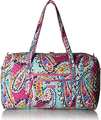 204a3f85e Vera Bradley Iconic Large Travel Duffel, Signature Cotton,Wildflower Paisley,  Wildflower Paisley,