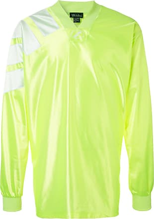 We11done oversized jersey top - Yellow